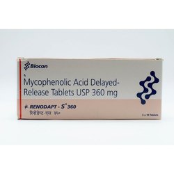 Mycophenolic Acid Delayed Release 360mg Tablets