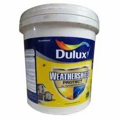 Oil Based Paint Dulux Weathershield Premium Exterior Paints, Packaging Type: Bucket, Packaging Size: 20 L