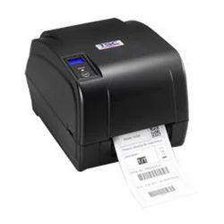 Black USB Portable TSC TA210 Barcode Printer, Speed: 100-200 meter per hour