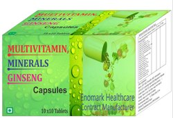 Ginseng Extract, Multivitamin And Minerals Capsule