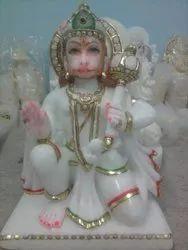 Hanuman Marble Moorti