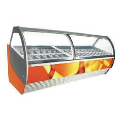 Stainless Steel Ice Cream Display Counter