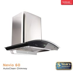 Hindware Nevio 60 Auto Clean Wall Mounted Chimney
