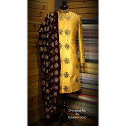 Silk Mens Designer Sherwani