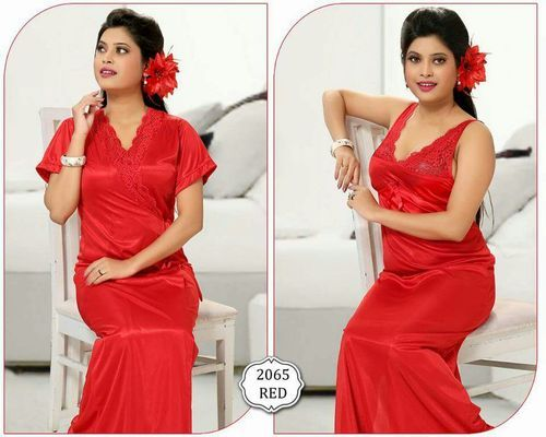 4e85356046 Ladies 6 Piece Red Nighty at Rs 250  piece