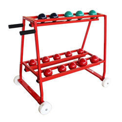 Shot Put Discus Medicine Ball Rack