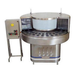 Semi Automatic Bottle Washing Rinsing Machine