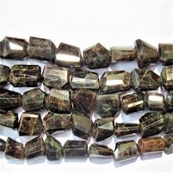 Hessonite Garnet Gomed Gemstone Faceted Tumble Stone Beads