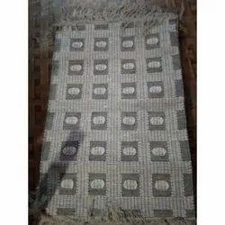 Arafat Handloom Rectangle Bedroom Cotton Rug, Size: 2/3 Feet