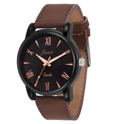 Brown Men Wrist Watch