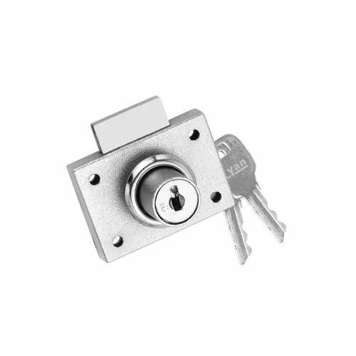 Iron Drawer Multipurpose Lock, Nickel