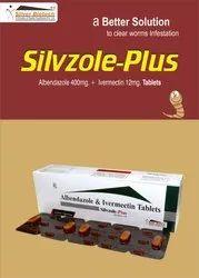 Albendazole 400mg,Ivermectin 12mg