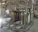 Automatic Milk Pasteurization Plant