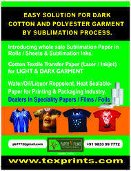 Sublimation Printing on Dark Cotton