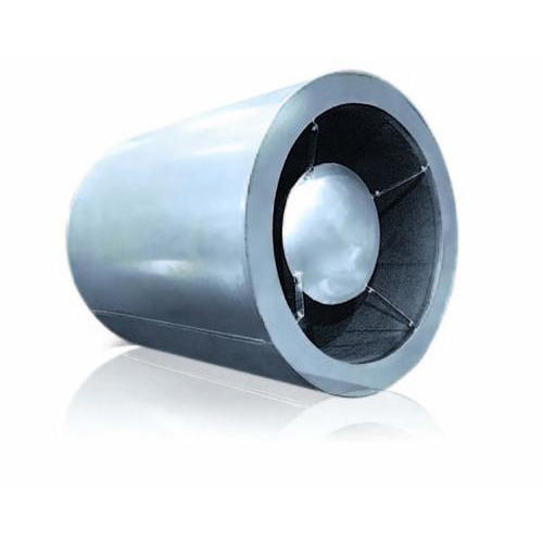 Round Sound Attenuator, For Industrial, Air Flow Private