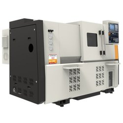 Ace Micromatic SJ 500 LM CNC Lathe Machine, Spindle Motor Power Fanuc Continuous: 7.5 kW