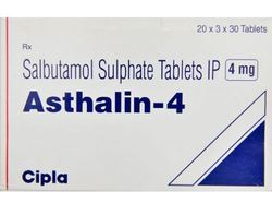 Asthalin 4mg (Salbutamol) Tablet