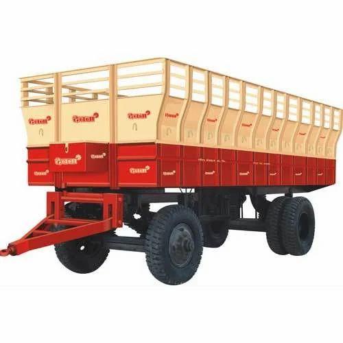 Iron Hydraulic Tractor Trailer