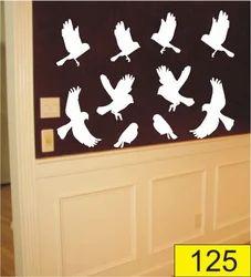 Bird PVC Wall Stencil