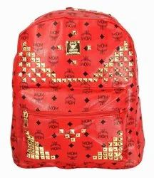 Red Fancy Girls Backpack