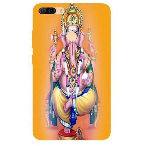 Silicon Lord Ganesha Printed Micromax Mobile Back Cover Rs 150