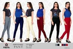Fiesta Regular Fit Ladies Fancy And Stylist Stretchable Pants