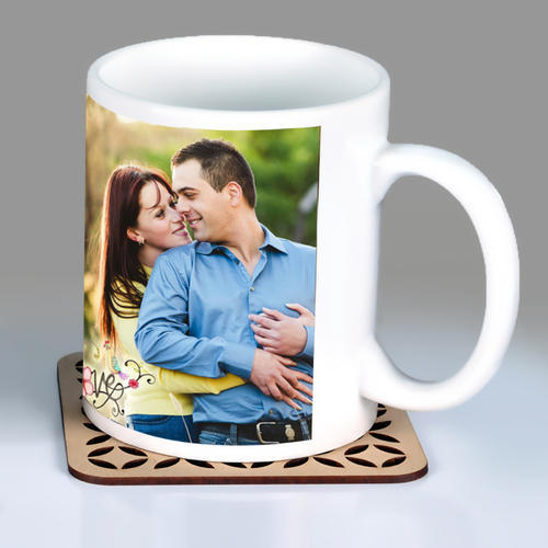 Multicolor Personalized Gifts Photo Mug, Size: 7 Cm X 7 Cm X 8 Cm, for Office