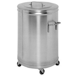 Silver Stainless Steel Container, Material Grade: Ss 304