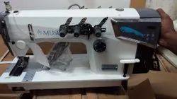 MUSEE 3 Needle Chain Stitch Direct Drive Machine.