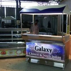 Chinese and South Indian Food Display Counter
