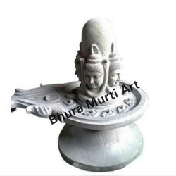 Marble Punchmukhi Shivling