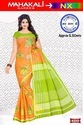 Casual Wear Cotton Sarees, Without Blouse