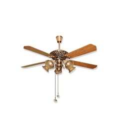 Fanzart Victoria - Vintage Wooden Ceiling Fan