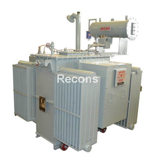 Recons hree Phase Oil Type Transformer