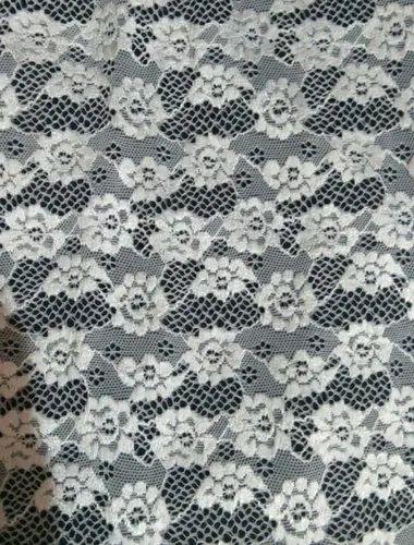 fc90117320 White And Black Nylon Lycra Fabric