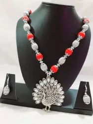 Designer Necklace With Earrings Set