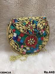 round handmade mosaic
