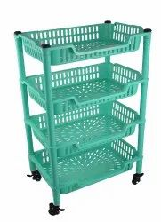 Action Trolley 4 Racks