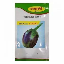 Ajmeri Brinjal Seeds, Packaging Size: 10 g