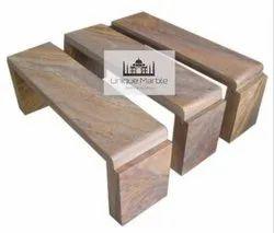 Solid Sandstone Bench