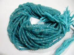100 % Natural Neon Apatite Beads