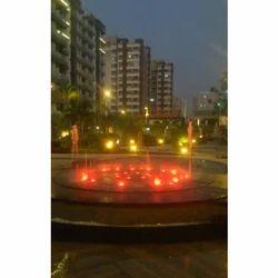 Music Dancing Water Fountain