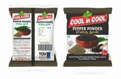 Black PEPPER POWDER, Packaging Size: 50g