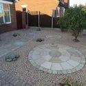 Sandstone Paving Circle