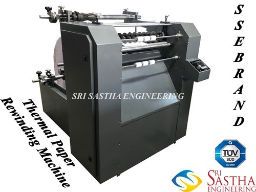Atm Roll Making Machine Thermal Roll Making Machine