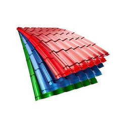 Colour Coated Roofing Sheet Coating Patra Retailers In India