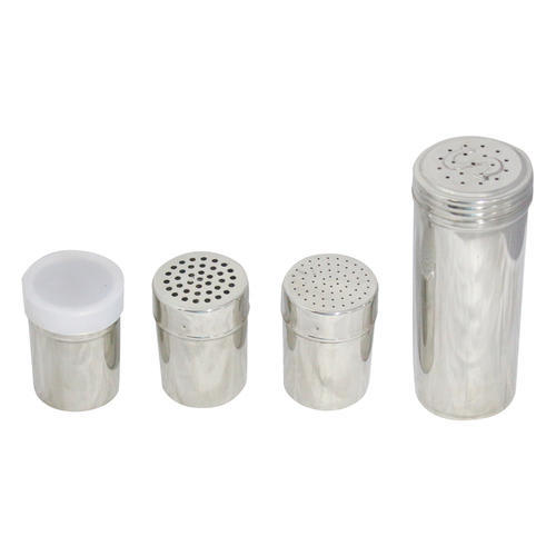 Stainless Steel Salt Pepper Shaker Set At Rs 40 Piece Kaali Mirch