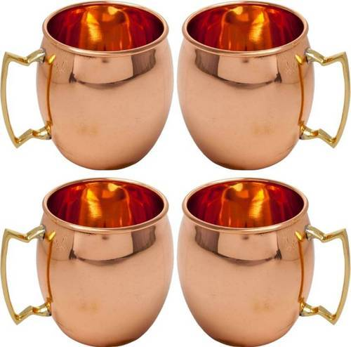 UCAPC-008 8 Inch Aatm Pure Copper Plain Jug Utensil Drinkware Best for Home /& Office Decoration /& Gift Purpose