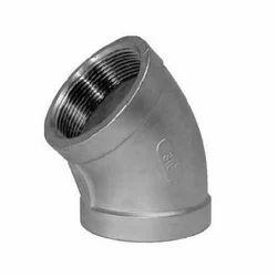 Stainless Steel 45 Deg Socket Weld Elbow