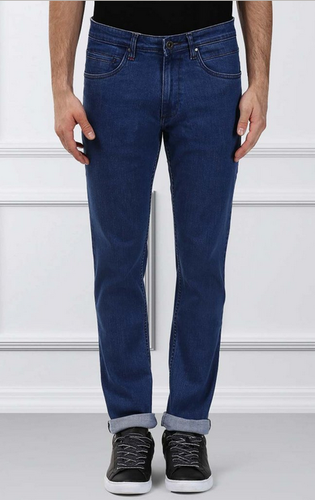 aeebb285 Blue Raymond Contemporary Fit Jeans, Waist Size: 30, Rs 1649 /piece ...